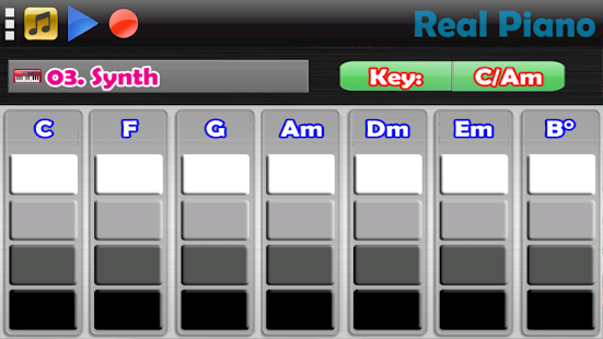 Game Real Piano - The Best Piano Simulator APK for Windows Phone