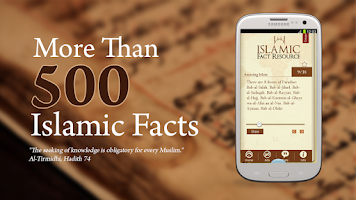 Screenshot of Islamic Fact Resource