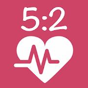 TrackMyFast 5:2 Diet 2.2.1 Icon