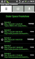 Screenshot of Outer Space Freakshow