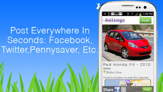 Antengo Free Local Classifieds - screenshot