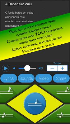 Capoeira Berimbau Music Maker - screenshot