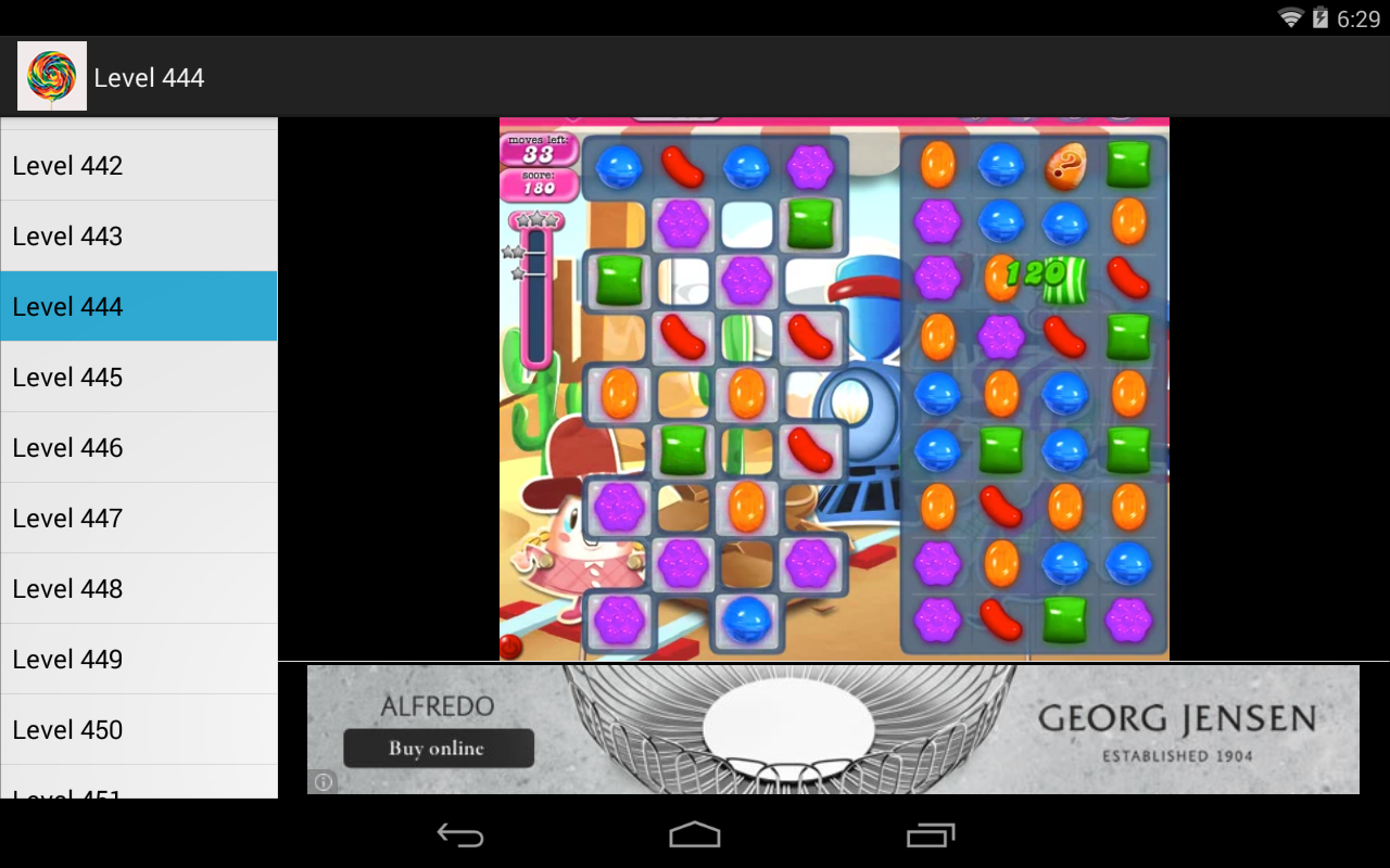 Candy Crush Solutions - screenshot