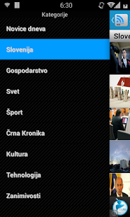 Slovenian News - screenshot thumbnail