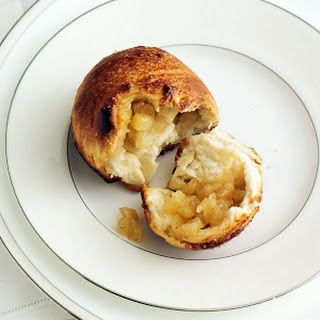 Individual Apple-Stuffed Challah