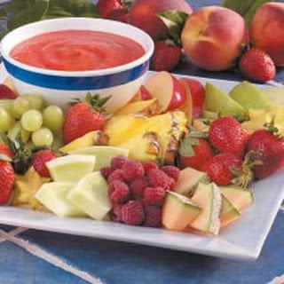 Refreshing Fruit Dip.
