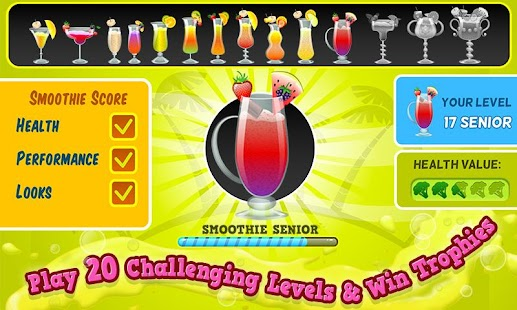 Smoothie Maker Crazy Chef Game- screenshot thumbnail