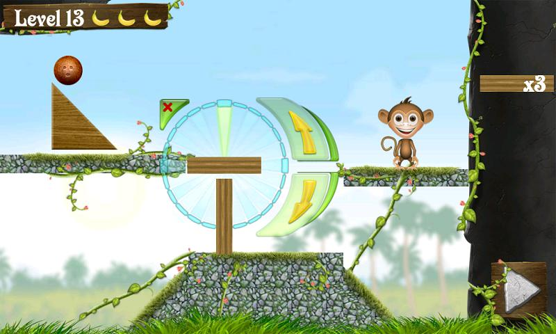 Feed the Monkey lite- screenshot
