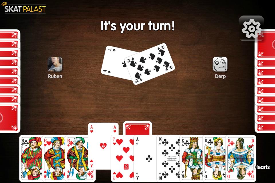 Skat- screenshot