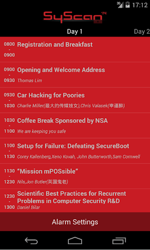 【免費教育App】SyScan Singapore-APP點子