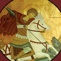 Saint George in Newnan icon