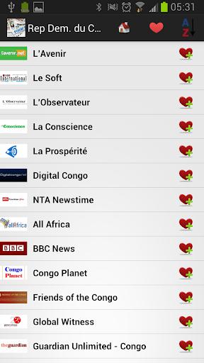 Rép Dém. du Congo journaux