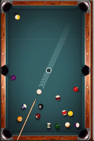 Pool Cue Ball Chase