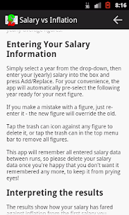 Salary vs Inflation- screenshot thumbnail