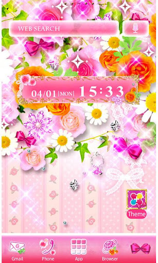 Flower Garden Wallpaper Theme 1.5 Windows u7528 1