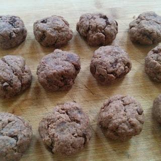 Double Chocolate Chip Cookies (vegan)