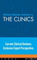 Screenshot of Clinics Review Articles