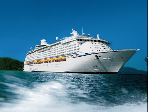 Explorer-of-the-Seas-Exterior-3 - Explorer of the Seas' Mediterranean itineraries includes port calls in France, Italy and Spain.