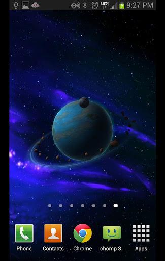 Andromeda HD 3D Live Wallpaper