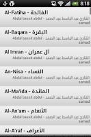 Screenshot of عبد الباسط عبد الصمد - قرآن