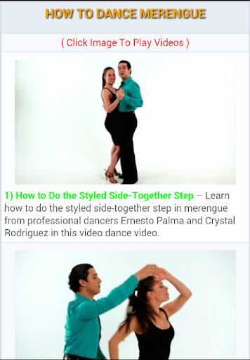 How to Dance Merengue