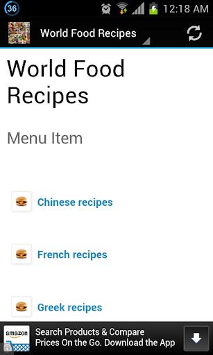 World Food Recipes