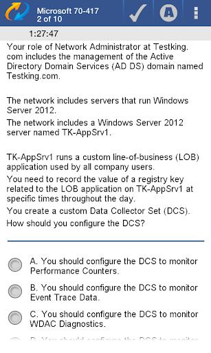【免費教育App】70-417 MCSA Demo-APP點子