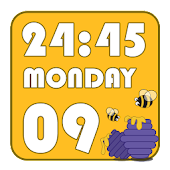HoneyHoney Clock Widget