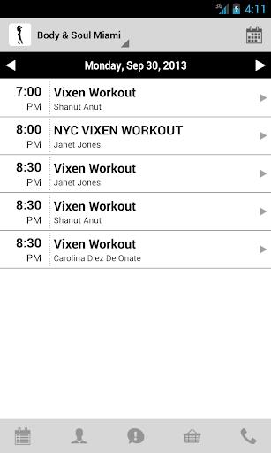 【免費健康App】Vixen Workout-APP點子