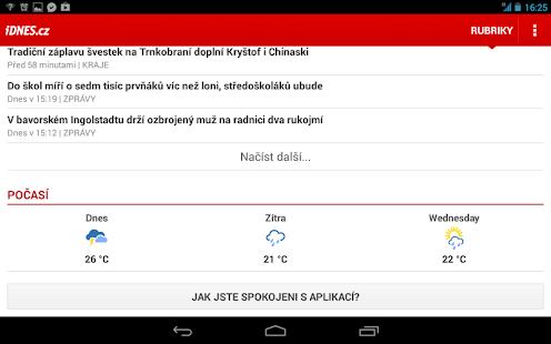 iDNES.cz - screenshot thumbnail