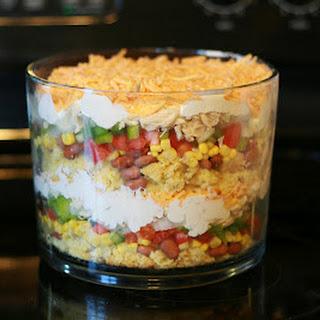 Jill's Mexican Salad Dip