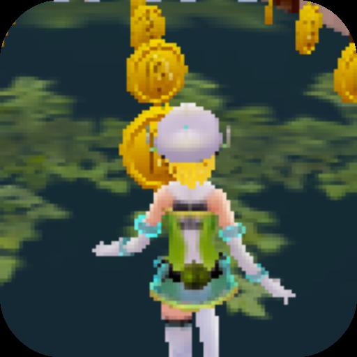 เกมส์วิ่งเก็บเหรียญ Angel 3D