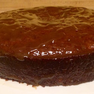 Over The Top Sticky Toffee Cake with a Bit of Rum.