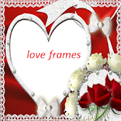 Love Valentine Photo Frames