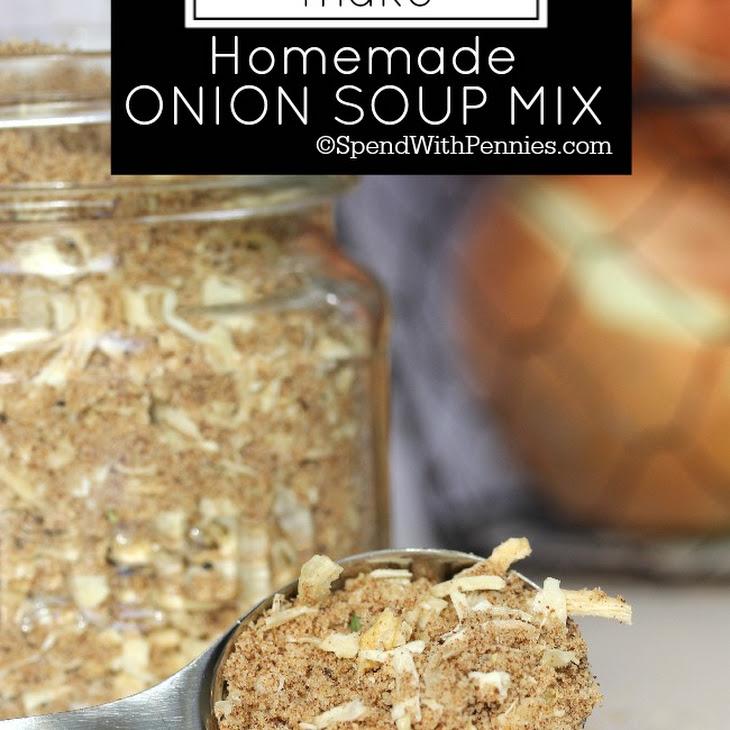 Homemade Onion Soup Mix Recipe