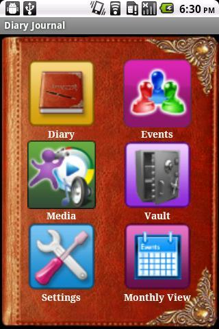 Diary Journal - Personal Notes- screenshot