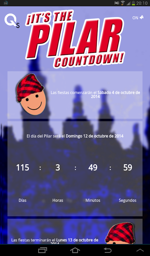 The Pilar Countdown Fiestas 16- screenshot