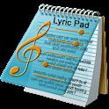 Lyric Pad. logo