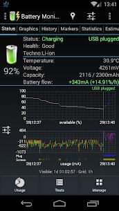 3C Battery Monitor Widget Pro v3.24 [Patched] APK 2