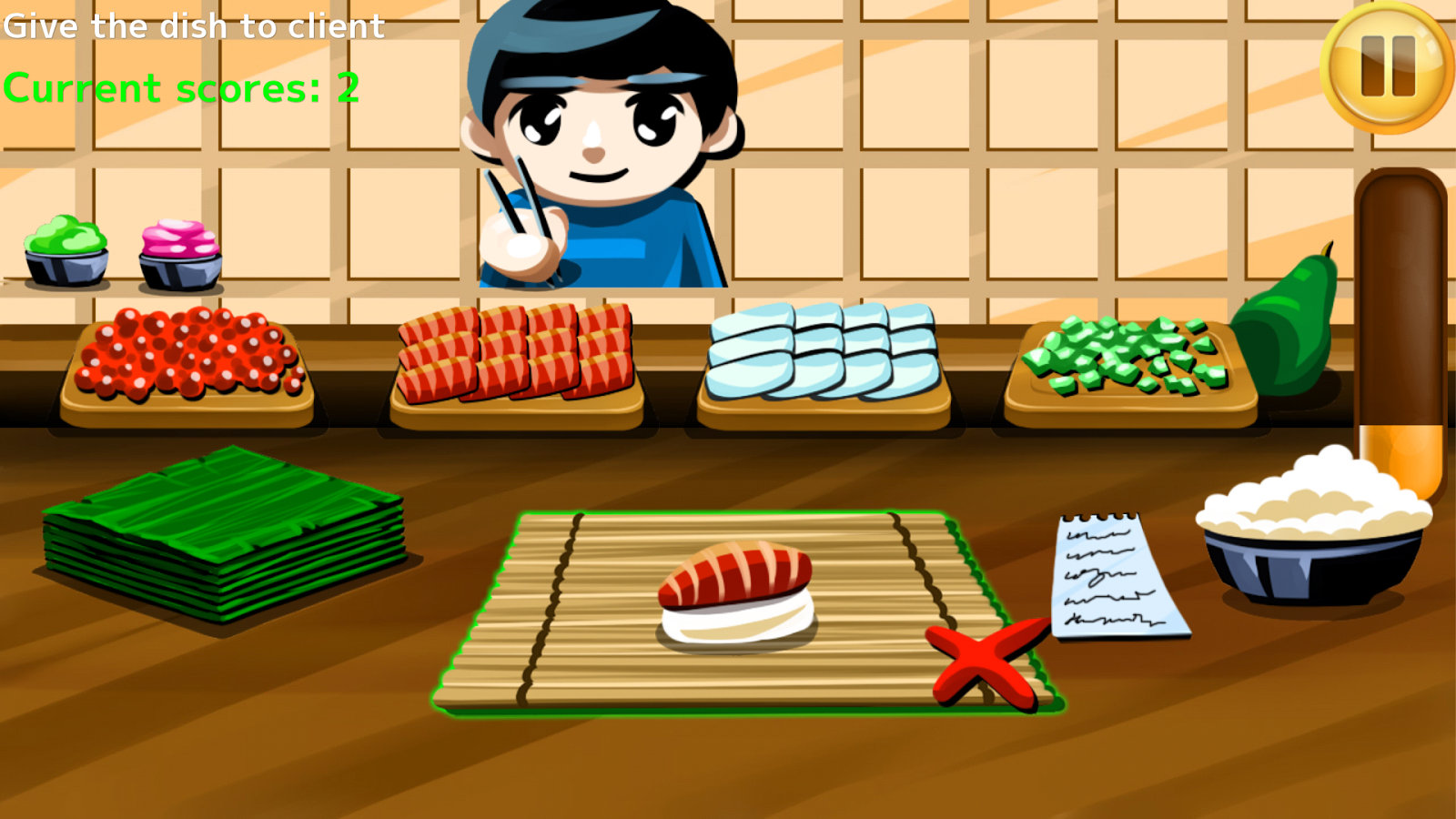 Sushi Making Game - screenshot