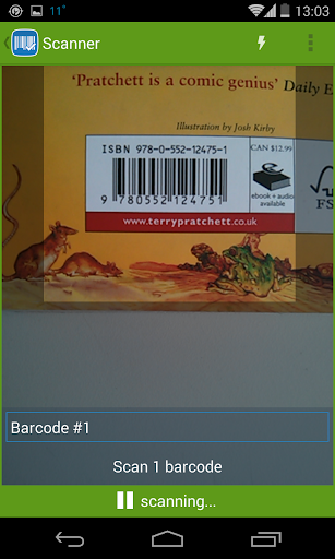 Barcodery - Barcode Scanner