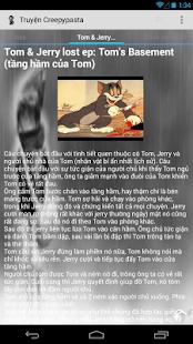 Truyện Creepypasta - screenshot thumbnail