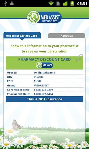 Meds Medication Discount Card