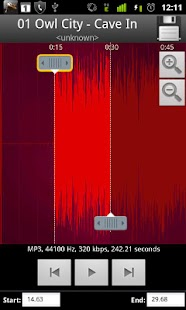 MP3 Cutter & Ringtone Maker !! - screenshot thumbnail