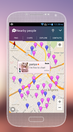 5 SayHi Chat, Love, Meet, Dating App screenshot