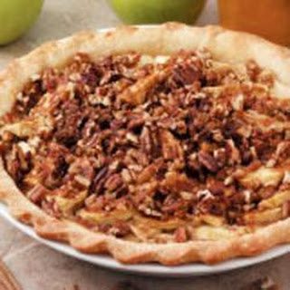 Nutty Sour Cream Apple Pie