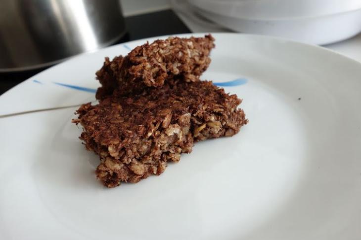 Choconananut Oatmeal Brownies