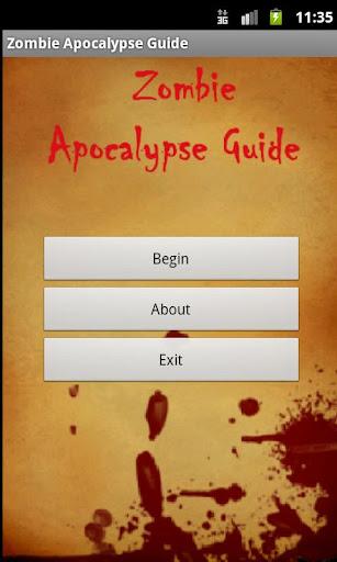 Zombie Apocalypse Guide