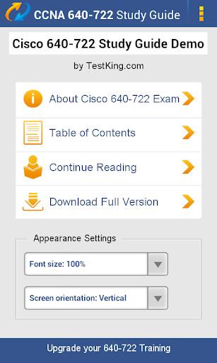 Cisco 640-722 Study Guide Demo