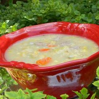 Turkey Corn Chowder.